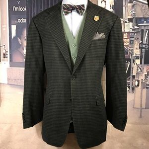 blazer Canali check size 44 L